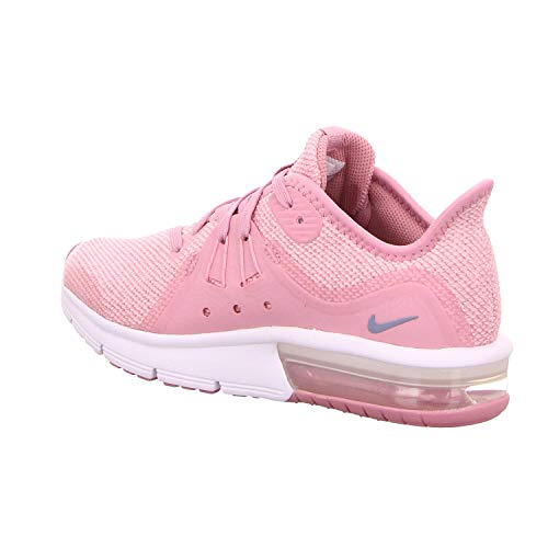Nike Sequent pink Max 3 gs elemental white De Chaussures Pink 601 Slate Compétition Running Air ashen Femme Multicolore SSRpng