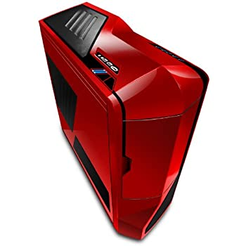 NZXT Phantom Full Tower Computer Case - Red (PHAN-001RD)
