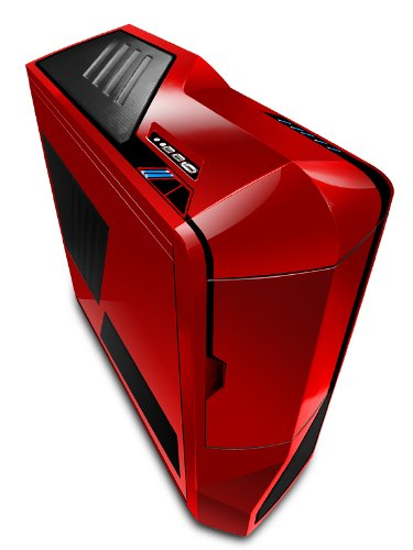 NZXT Phantom Full Tower Computer Case - Red (PHAN-001RD) by Nzxt