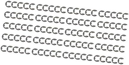 約100個 チェーンソー Eクリップ アソートメント ファスナーセット リテーニング リングキット