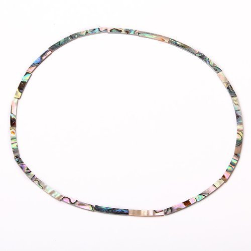 DN 1 Set Natural Abalone Guitar Rosette Inlay Acoustic Sound Hole Custom DN10100732