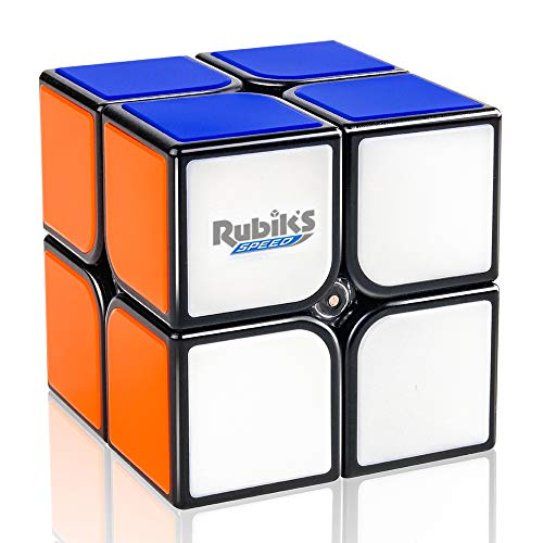 D-FantiX Rubik's Speed Cube 2x2, Gan RSC 2x2 Rubiks Speed Cube 2x2x2 Magic Cube Puzzle Black