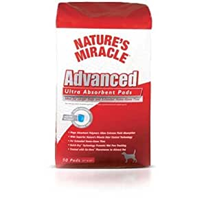 Nature S Miracle Advanced Ultra Absorbent Pads  Count