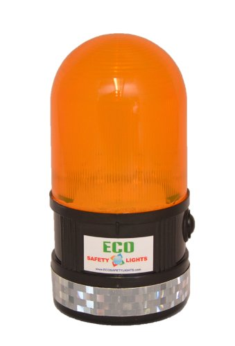 P6LM LED Portable Safety Lights Personal Hazard Light (AMBER) by ECO Safety Lights