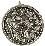 Dragon & Phoenix - Siddharta - The Buddhist Collection Pewter Pendant