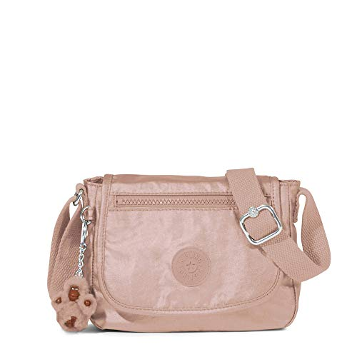 Kipling Sabian Crossbody Metallic Mini Bag One Size Rose Gold -