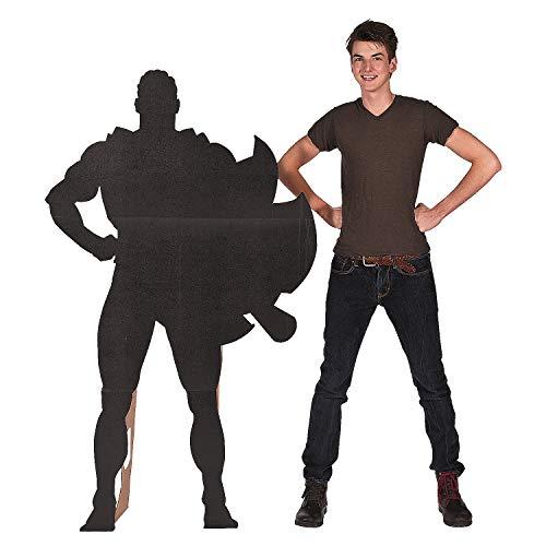Superhero Silhouette Standup