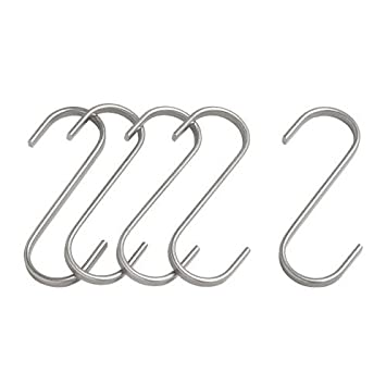 Ikea Stainless Steel S-hook 700.113.97, 2.75-inch, Pack of
