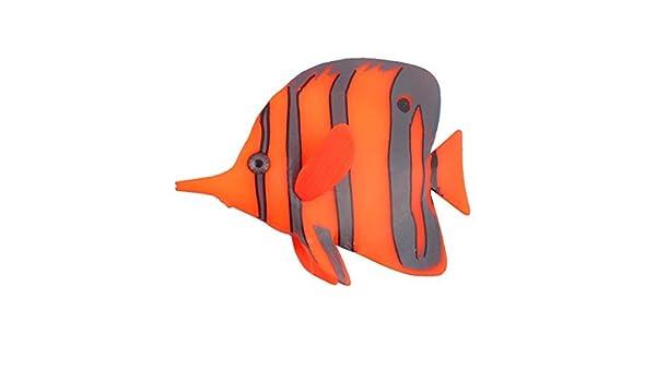 Amazon.com: eDealMax Patrón Raya acuario pecera ventosa falso flotante Ornamento Tropical: Pet Supplies