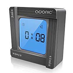 Adoric Digital Alarm Clock with Snooze Function, Miracle TimeCube Timer for Time Management for Kids, Office Meeting, Reading, Yoga, Cooking
