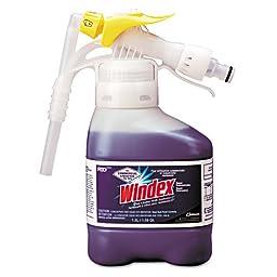 Windex Super Concentrate Glass Cleaner with Ammonia-D, Liquid, 50.7 oz. Bottle (1 Bottle) - BMC-DRK 3481049
