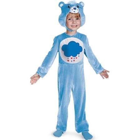 Disguise Baby Girl's Care Bears Grumpy Bear Classic