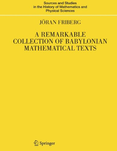 A Remarkable Collection of Babylonian Mathematical Texts: Manuscripts in the Schøyen Collection: Cuneiform Texts I (Sour