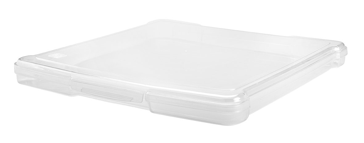 IRIS 12'' x 12'' Slim Portable Project Case, 10 Pack, Clear