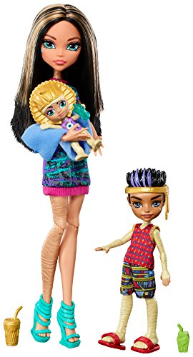 Monster High Monster Family of Cleo de Nile