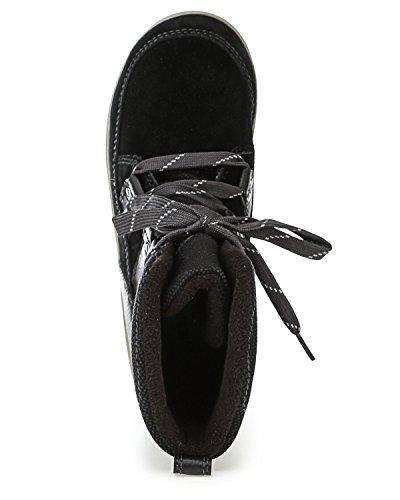 Pictures of Sorel Meadow Lace Winter Snow Boot Shoe - Black/dark Grey 3