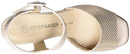 Peter Kaiser Pearl - Sandalias Mujer Rot (powder Summermoon Bello 942)