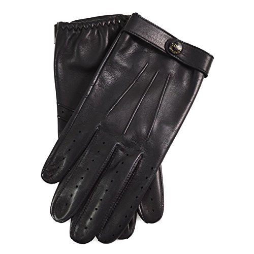 Dents Fleming James Bond Spectre Leather Driving Gloves (L)
