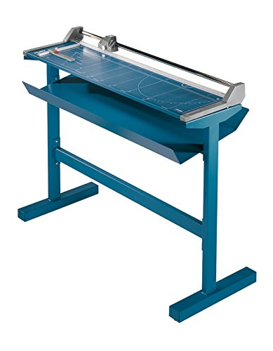 Dahle 558s Large Format Professional Rolling Trimmer with Stand, 51 1/8