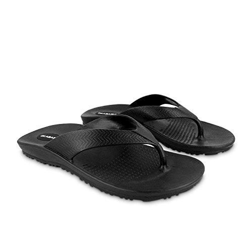 Okabashi Surf Slippers Voor Heren - Sandalen Zwart