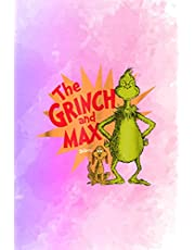 """Acts Of Kindness Notebook Dr. Seuss Grinch and Max Burst: 6"""" x 9"""" size, 114 pages"""