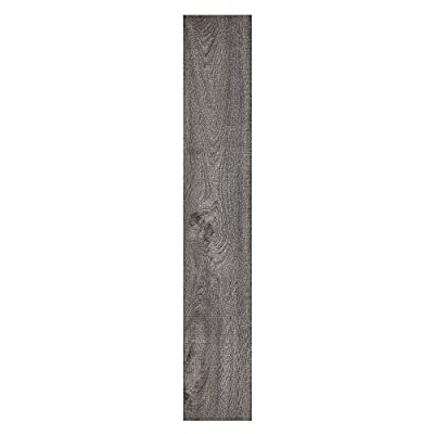 "Achim Home Furnishings STP2.0RG10 2mm Sterling 10 Vinyl Planks, 6"" x 36"", Rustic Grey"