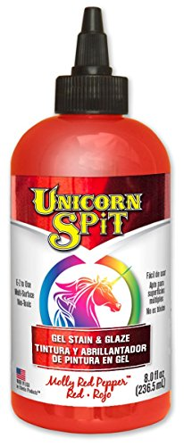 eclectic-5771002-6-pack-8-oz-unicorn-spit-gel-stain-and-glaze-molly-red-pepper