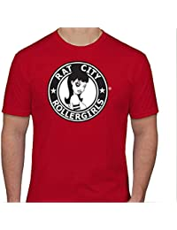 Original Rat City Rollergirls Mens T-Shirt in Red