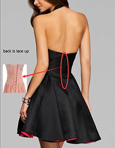 Party Yilis Dress Homecoming Dress Lace Applique with A line Satin Prom Sample Short qx4qYaU