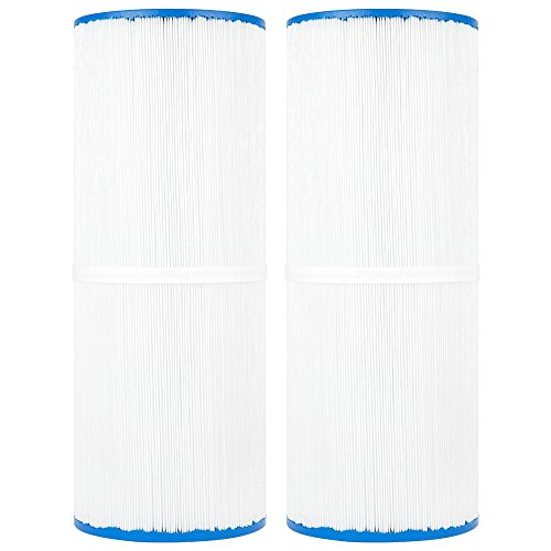 Clear Choice Pool Spa Filter 4.94 Dia x 13.31 in Cartridge Replacement for Rainbow 17-2380 Dynamic Series Aladdin 15002, [2-Pack] ()