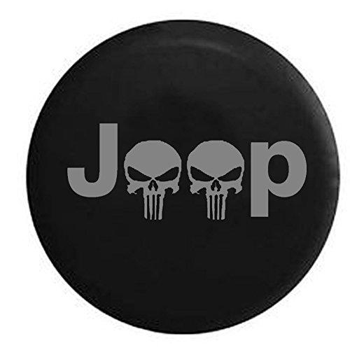 Compare Price Jeep Skull Spare Tire Cover On