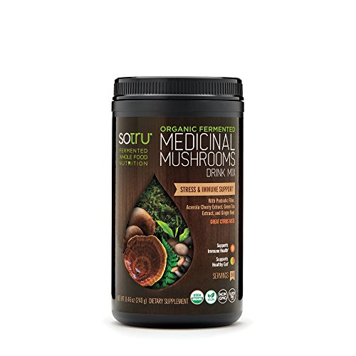 SoTru Fermented Medicinal Mushrooms Supplement, 8.47 Ounce
