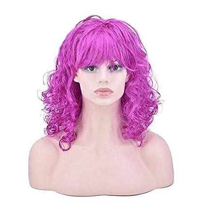 WMHF Peluca, peluca de halloween, navidad, carnaval, peluca, fiesta, peluca