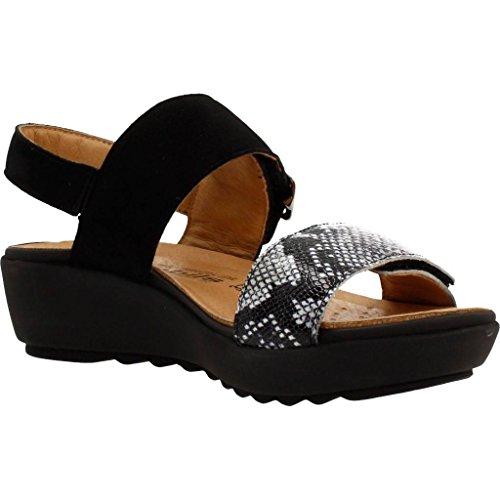 Sandalias y chanclas para mujer, color Negro , marca MEPHISTO, modelo Sandalias Y Chanclas Para Mujer MEPHISTO DORES Negro Negro