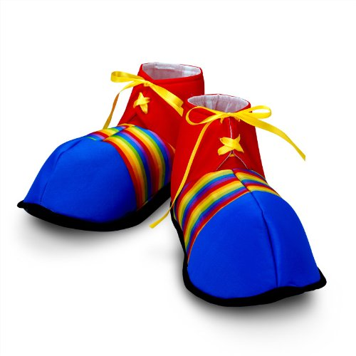 Clown Costumes - Jumbo Clown Shoes - Costumes & Accessories & Props & Kits