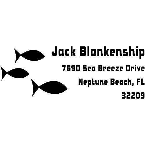 Fish Address Labels - 5