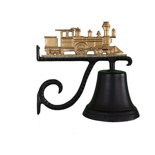 Montague Metal Products Cast Bell with Gold Train by Montague Metal Products