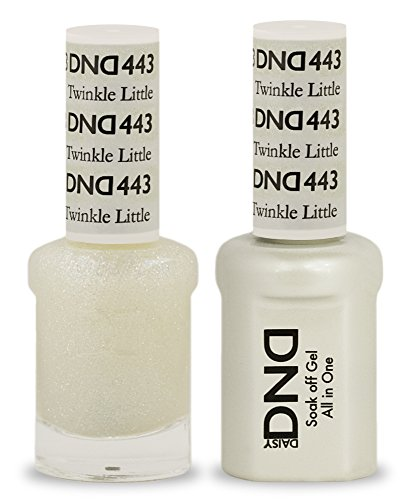 DND Soak Off Gel Polish Dual Matching Color Set 443, Twinkle