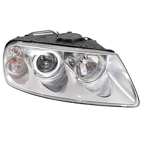 Koolzap For 04-07 VW Touareg Front Headlight Headlamp Halogen Head Light w/Bulb Right Side