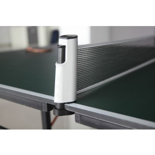 Docooler Portable Retractable Telescopic Table Tennis Net Rack Replacement Ping Pong Kit Grey