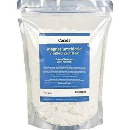 Cloruro de magnesio Vital baño ZECH piedra 2.5 Kg baño