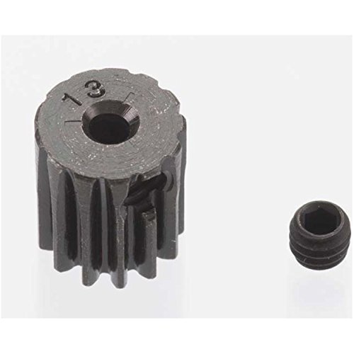 0.5 Module Hard Blackened Steel Mini Pinion 2mm, 13T Robinson Racing