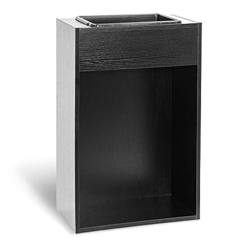 BarberPub Waste Bin Container Barber Station Storage Cabinet Salon Beauty Spa Equipment 7135 (Style1)