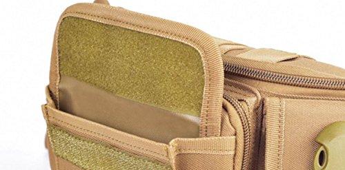 FZHLY Los Bolsillos De Camuflaje Deportes Al Aire Libre Multi-funcionales,Camouflage Gray