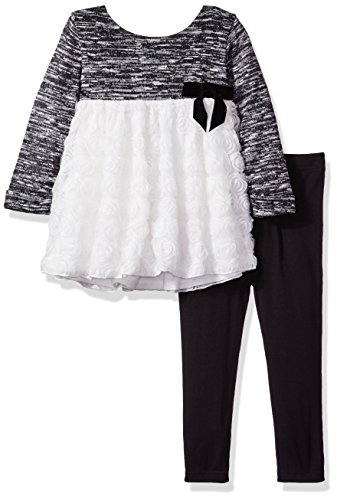 4t black and white dress - 8
