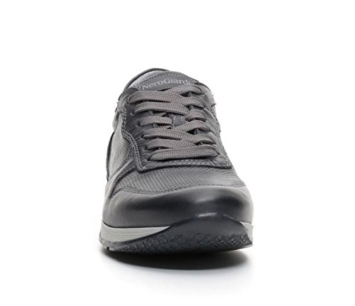 Dockers 40iz001-204206 - Zapatos de cordones de Piel para hombre, color gris, talla 40 EU