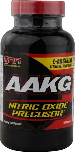 San AAKG Nitric Oxide Precusor -- 120 Caplets - 3PC by SAN Nutrition