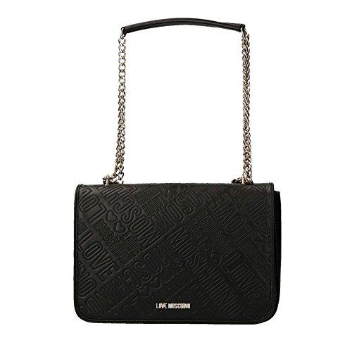 BORSA DONNA LOVE MOSCHINO EMBOSSED COLORE NERO B18MO67
