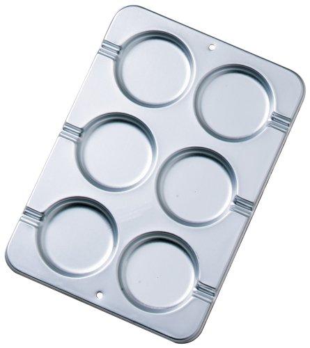 - Wilton Round Cookie Treat Pan, 3 1/2 in. Diameter x 1/4 Inch Deep