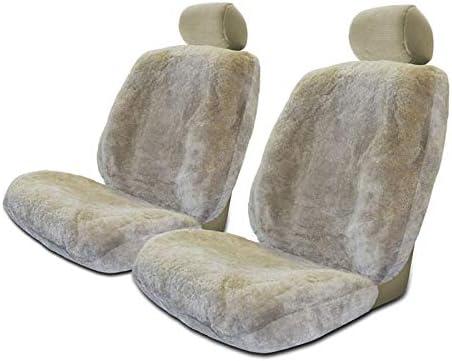 Australian Genuine Lambskin Sheepskin Cushions x 2ea